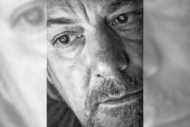 Klangkünstler Peter Philippe Weiss im Sud in Basel