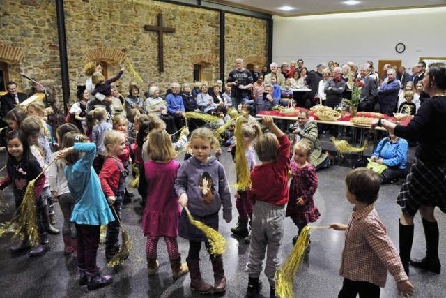 Beim Neujahrsempfang im Cyriaksaal in Lehen wurde das Programm durch die musikalischen Auftritte von Kindern aufgefrischt