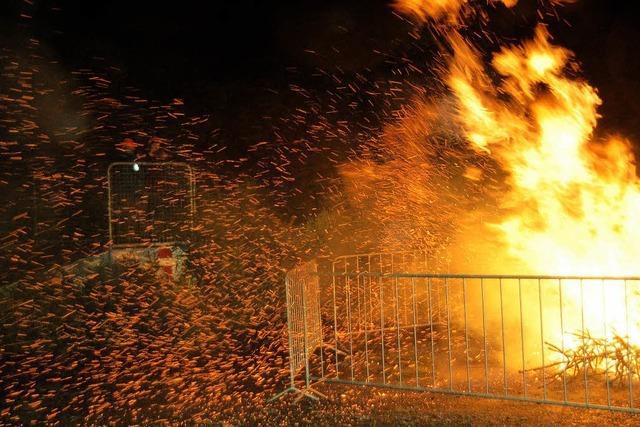 Feuer und Flamme für die