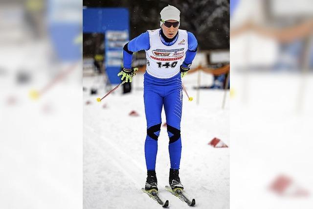 Mit neuen Ski gleich in den Wettkampf