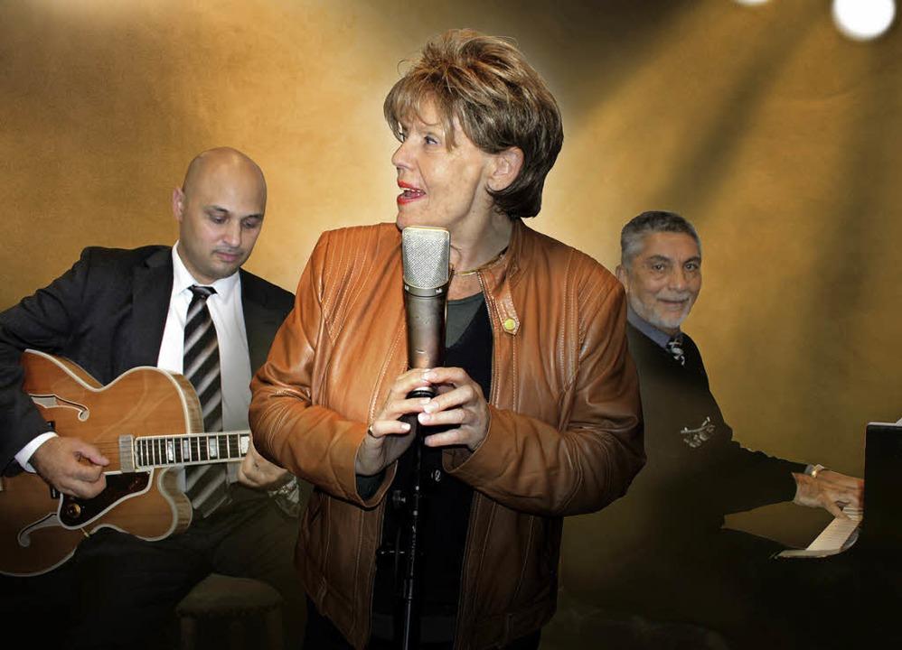 Swing-Legende: Greetje Kauffeld mit der Ismael Reinhardt Band  | Foto: pro