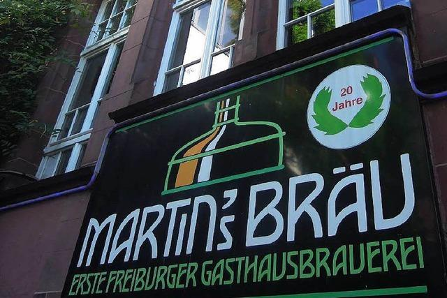 Martinsbräu-Gaststätte in Freiburg wird umgebaut