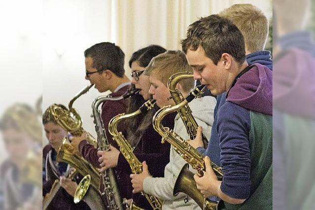 Das Freiburger Schüler Jazzorchester im Jazzhaus