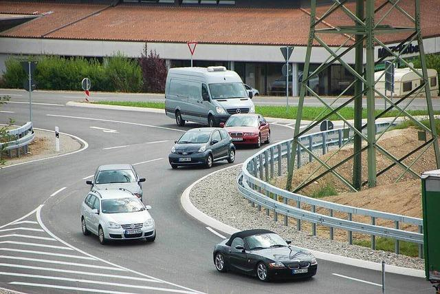 Unfall im Turbinenkreisel – Verursacher haut ab