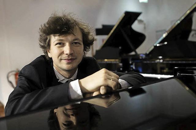 Ausnahmepianisten Mikhail Mordvinov in Sulzburg-Laufen