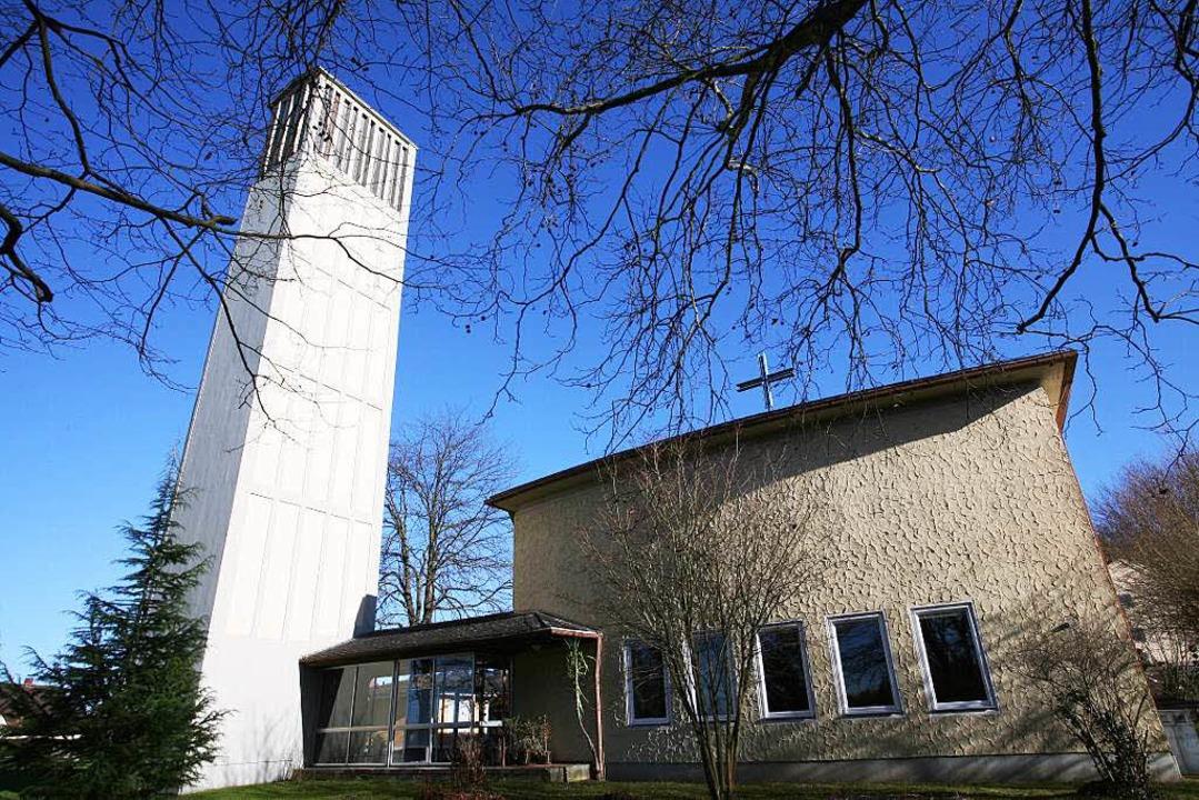 Die Friedenskirche in Lahr soll verkauft werden.  | Foto: Bastian Henning