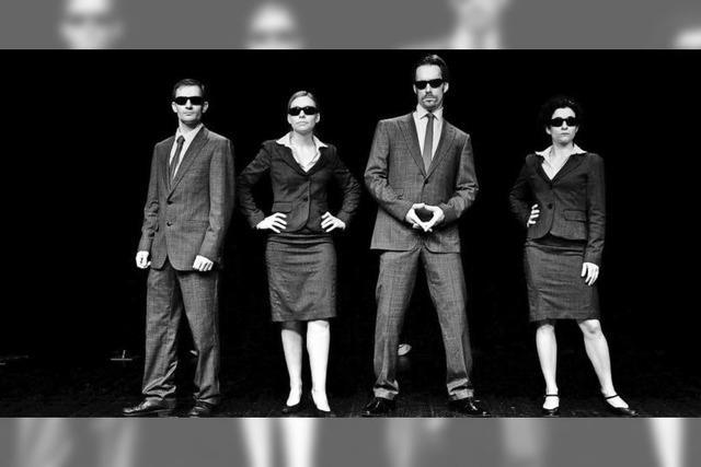A-Capella-Quartett Urstimmen im Theater im Teufelhof in Basel