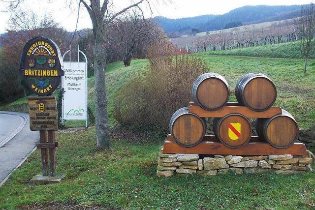 Britzingen: Holzfässer von Ortseingang gestohlen