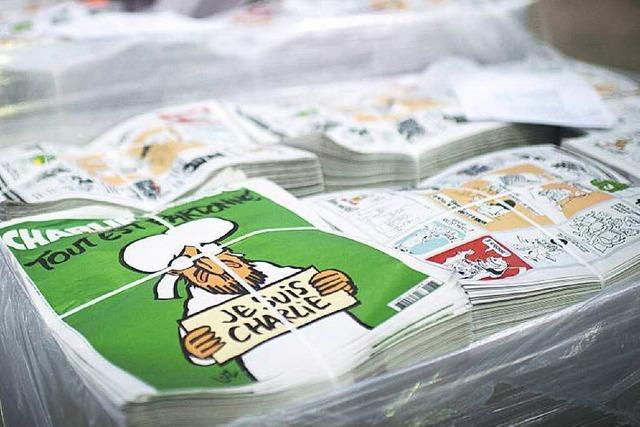 Doch weniger Exemplare von Charlie Hebdo für Südbaden