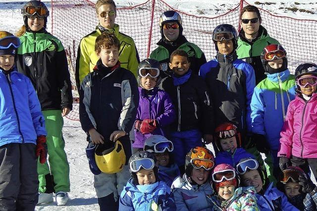 Skiclub Wehr bringt Kinder auf die Piste