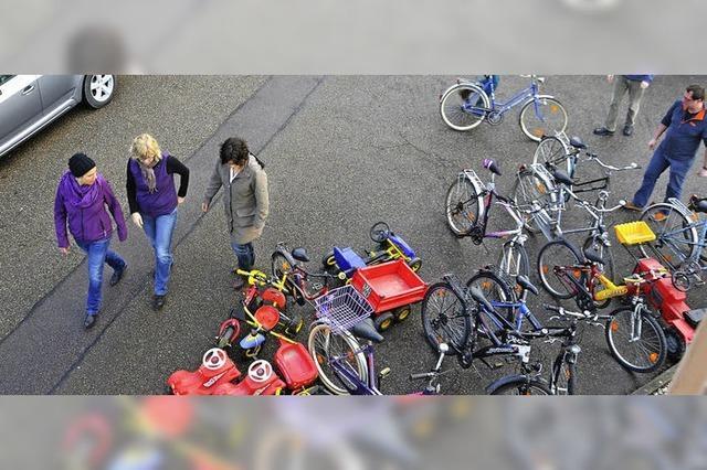 Leihräder für Flüchtlinge sind parat