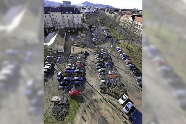 Parkplätze zu Wohnungen