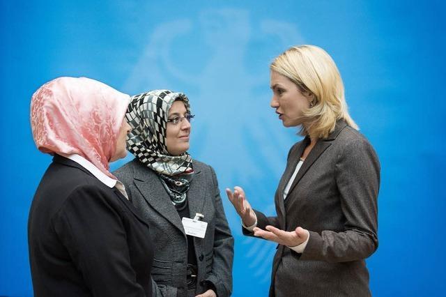 Islamkonferenz in Berlin