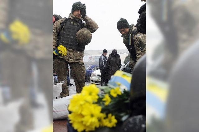 Die Geduld in Kiew schwindet