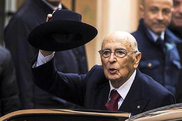 Italien sucht einen neuen Vater der Nation