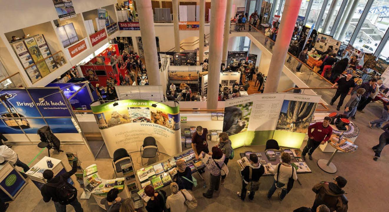 Einblick: Bei der Mundologia-Messe gibt es für Besucher  Infos und Angebote.  | Foto: David Lohmueller