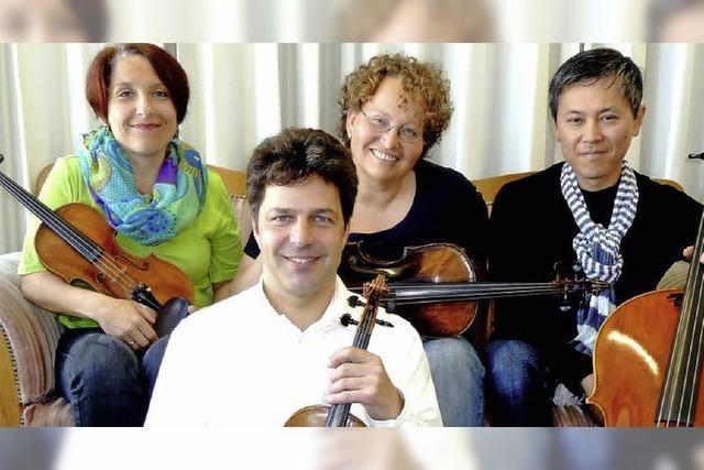 Das Bertold Quartett in der Kumedi in Riegel
