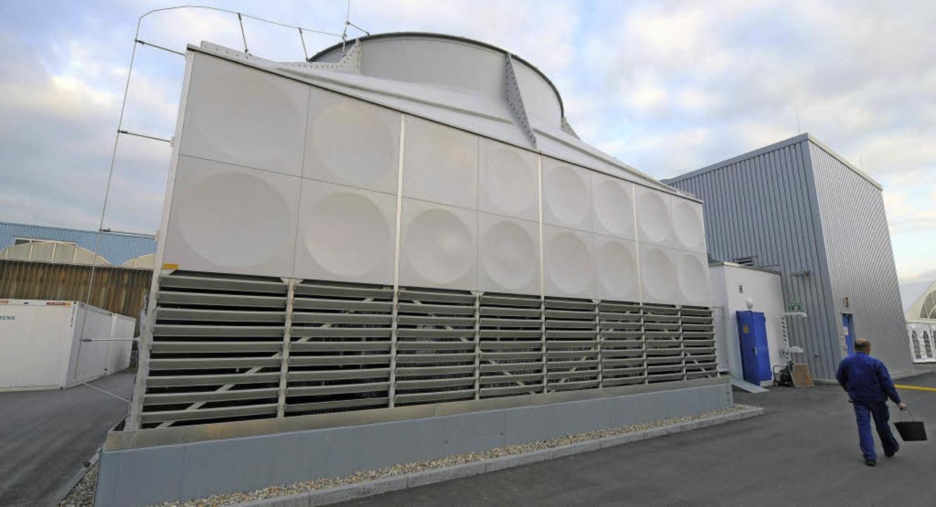 Das erste Geothermie-Kraftwerk in Bade...rom für rund 1200 Haushalte erzeugen.   | Foto: archivbild: dpa/Ronald Wittek