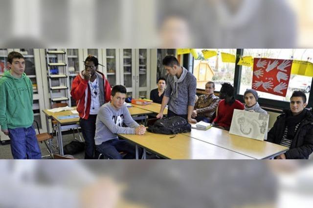 Aus dem Krieg ins Klassenzimmer