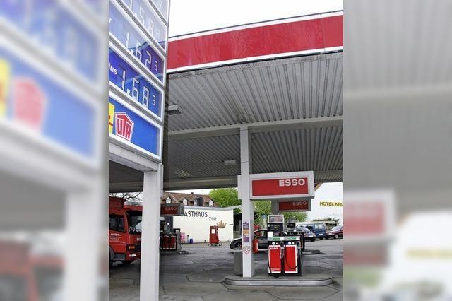 Esso-Tankstelle in Haltingen schließt am 31. Mai