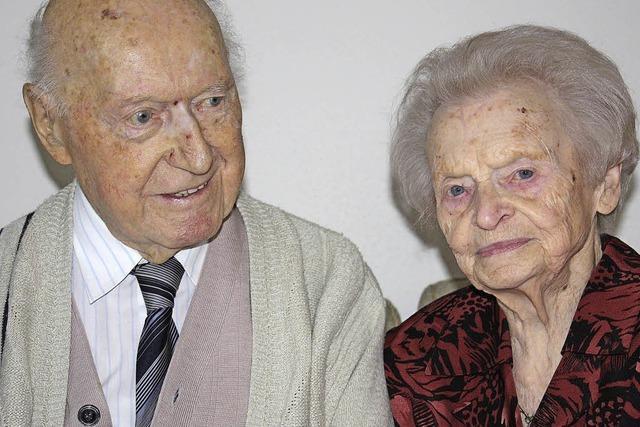 Maria und Hans Schill feiern in Glottertal ihre Gnadenhochzeit
