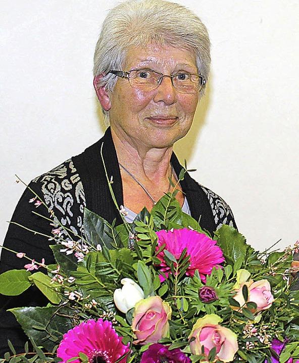 Gisela Brehm wurde für ihr bürgerschaftliches Engagement geehrt.  | Foto: Mario Schöneberg