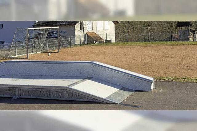 Ein Boule-Platz soll angelegt werden