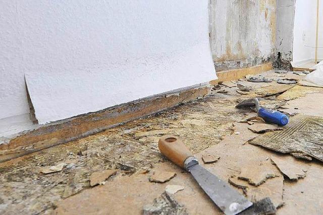 Gut gedämmte Häuser haben vermehrt Probleme mit Schimmel