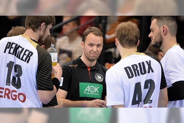 Die deutschen Handballer fahren mit dem neuen Bundestrainer Dagur Sigurdsson zur WM