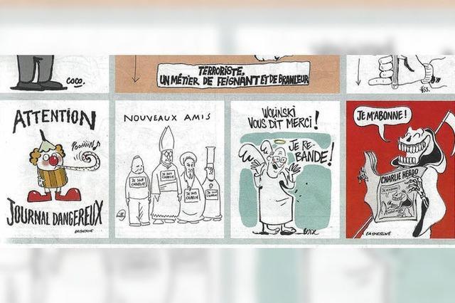 Gelesen: Die erste Ausgabe von Charlie Hebdo nach den Anschlägen von Paris