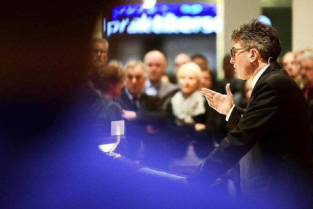 Rede von OB Dieter Salomon beim Neujahrsempfang