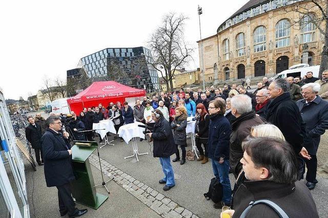 Startschuss für neue Großbaustelle in Freiburg