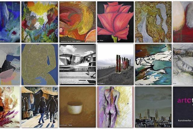 In der Emmendinger Galerie im Tor bieten 18 Künstler Werke zur Ausleihe an