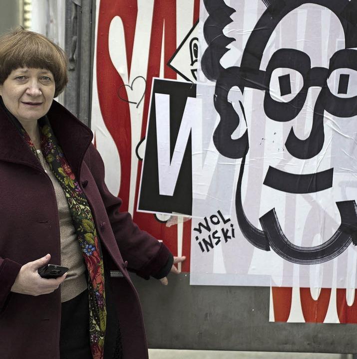 Irina Katz in Paris   | Foto: Hayoun