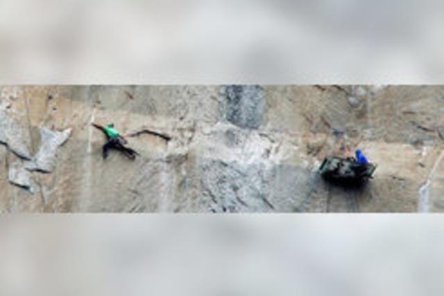 Zwei Freeclimber haben die Steilwand des El Capitan in Kalifornien bezwungen
