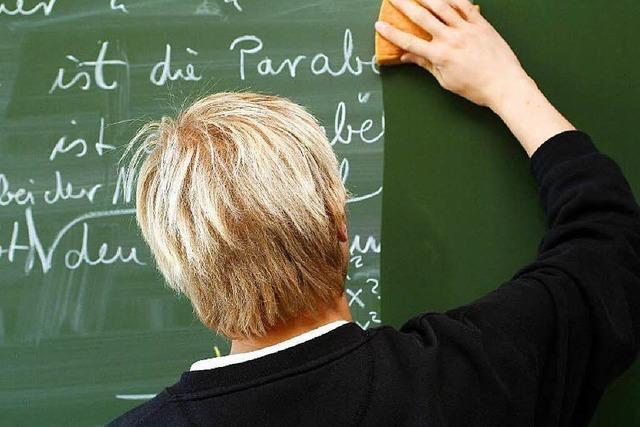 Viele Lehrer melden sich vor dem Ruhestand dienstunfähig