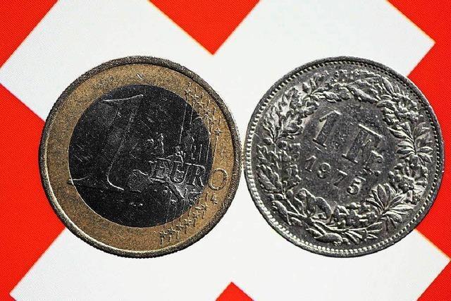 Franken-Aufwertung: Schweiz sollte lieber dem Euro beitreten
