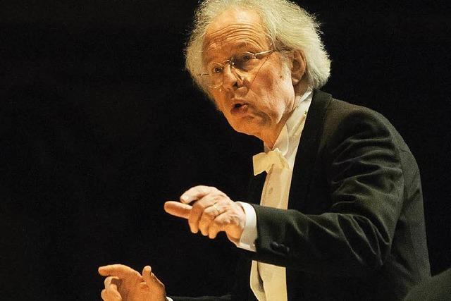 Der Dirigent Hans Michael Beuerle ist tot