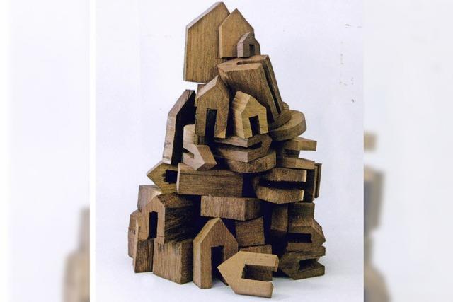Werke von Pokorny und Schad in der Galerie Angelika Lenz in Feldberg-Falkau