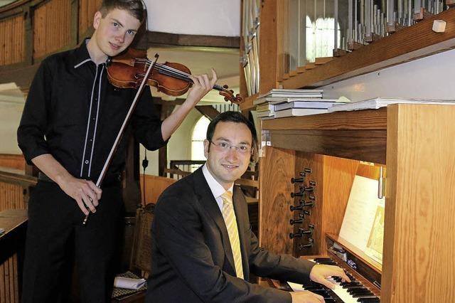 Geistliche Abendmusik in der Evangelischen Kirche Mengen