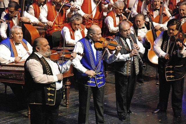 Zigeunerorchester im Palais de la Musique in Straßburg