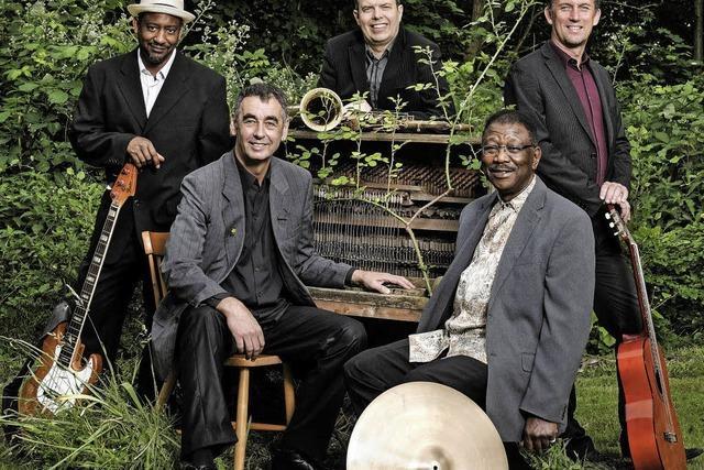 First Class Blues Band im Berggasthaus Waldhaus in Schopfheim-Schweigmatt