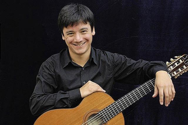 Rodrigo Guzmán spielt in der Christuskirche in Rheinfelden
