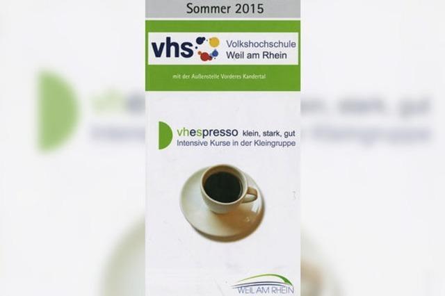Lernen im Expresstempo - neues Konzept der VHS