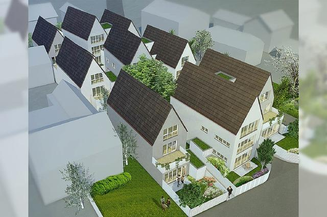 Ein Dörfli im Dorf mit 14 Wohnungen