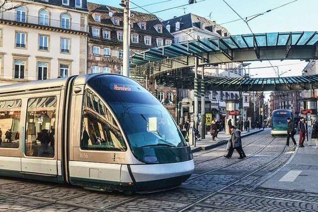 Straßburg: Endet der Ausbau des Tram-Netzes 2018?
