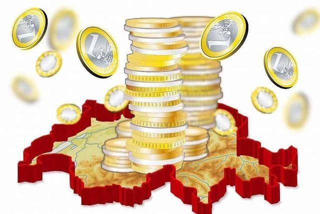 Erste Bilanz: Der Euro wird in der Schweiz knapp