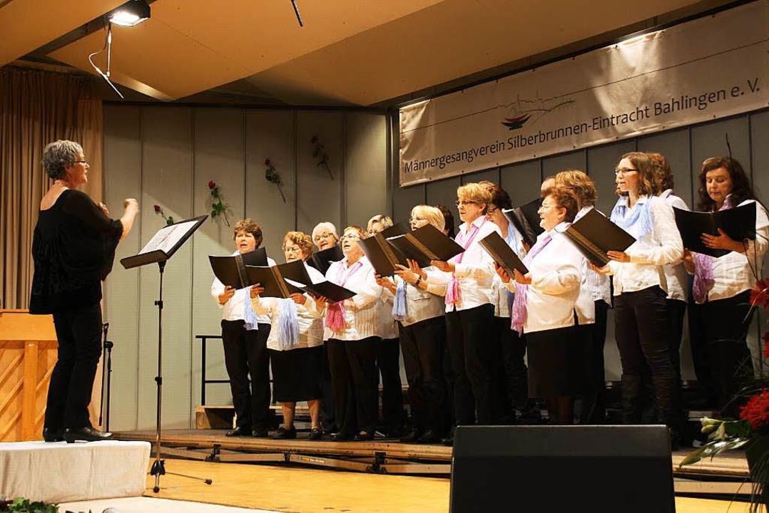 Der Bahlinger Kirchenchor unter der Leitung von Rita Jerke.  | Foto: Christiane Franz