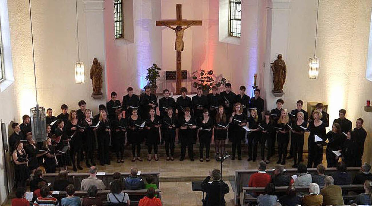 2012 waren sie schon mal in der St.-Jo... kommen sie wieder: die Young Vocals.     Foto: ZVG
