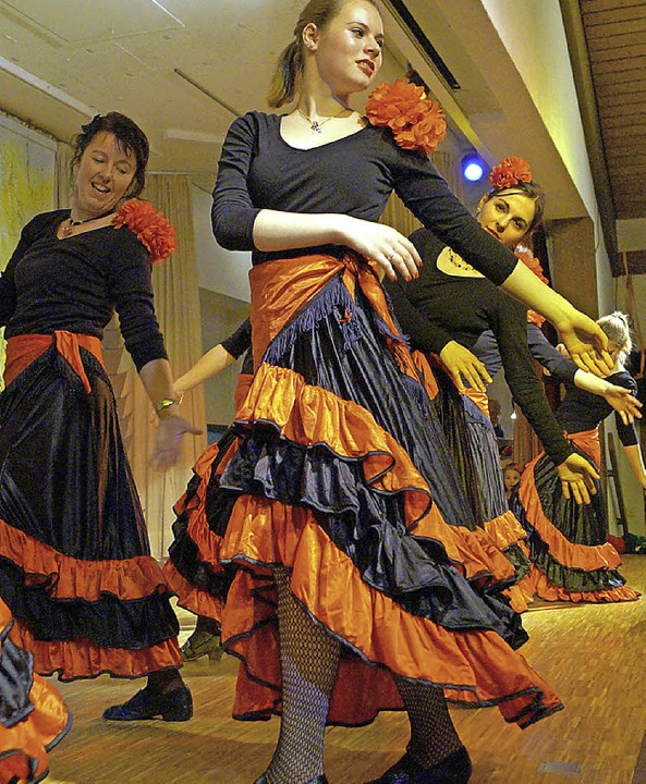 Tanz der Senoritas    Foto: Silke Hartenstein